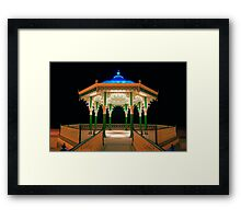 The Bandstand - Brighton - England Framed Print