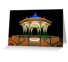 The Bandstand - Brighton - England Greeting Card
