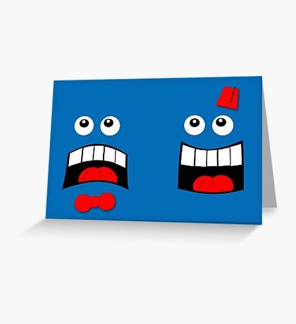 Dr FACE Greeting Card