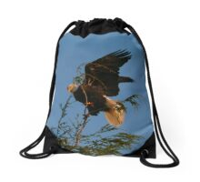 Blowin' In The Wind Drawstring Bag