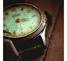 His Watch Photographic Print