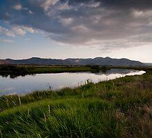 Sundown at Silver Creek by Ben Rae