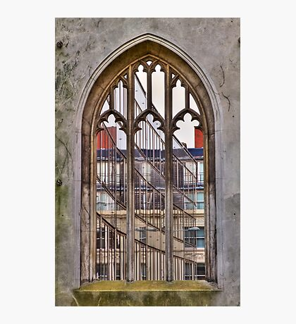 The Windowless Window - St Dunstan in the East - London Photographic Print