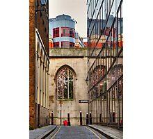 St Dunstan's Hill - London Photographic Print