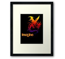 imagine dragons Framed Print
