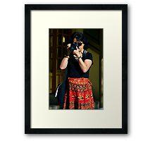 Photographer - I Framed Print