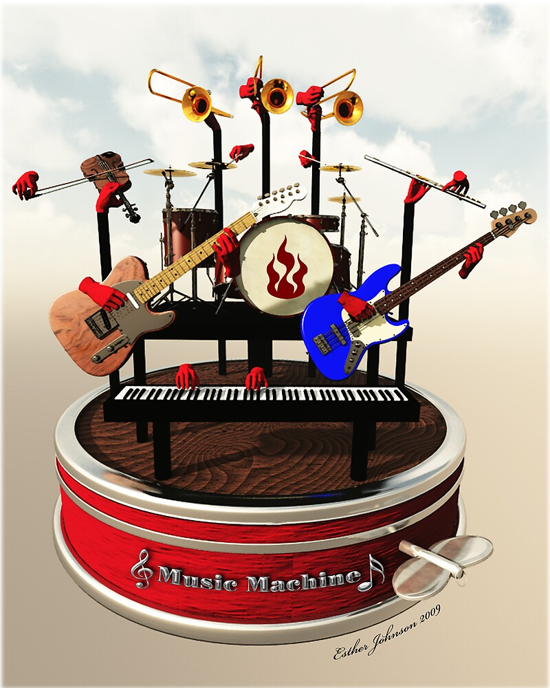 The Music Machine by Esther Johnson