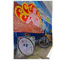 Brighton By Bike - England Poster