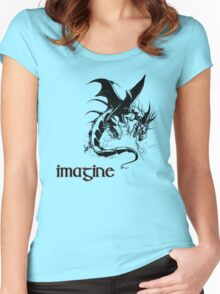 imagine dragon Women's Fitted Scoop T-Shirt