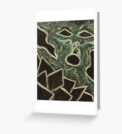 Malvainnian (A Thought Ghost) Greeting Card