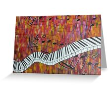 harlem nocturne Greeting Card
