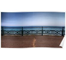 Brighton Sea Front - England Poster
