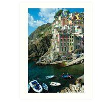 Cinque Terre - Riomaggiore, Italy Art Print