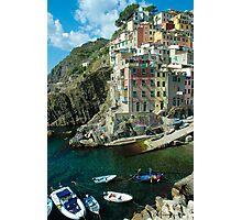 Cinque Terre - Riomaggiore, Italy Photographic Print