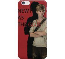 Newt The Glue  iPhone Case/Skin