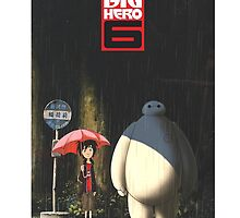 Big Hero 6 - Totoro's Version by zetsuennoadams