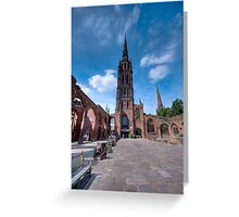 Coventry Cathedral, England Greeting Card