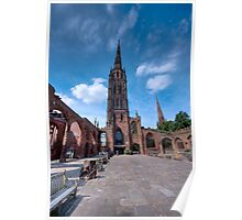 Coventry Cathedral, England Poster
