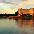 Carew Sunset by spottydog06