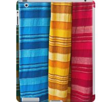 Pashminas or  Scarves - Camden Markets - London iPad Case/Skin