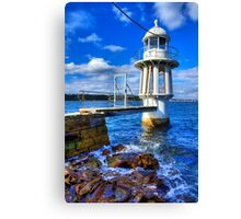 Robertson's Point Lighthouse - Sydney - Australia Canvas Print