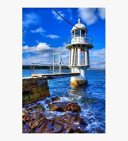 Robertson's Point Lighthouse - Sydney - Australia Photographic Print