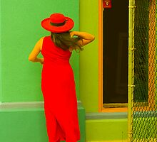Lady In Red by Jack Grace
