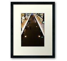 On The Catwalk...Yeah, The Catwalk Framed Print