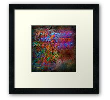 TANTRIC SERIES...His Heartache Became Hers Framed Print