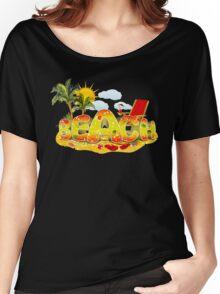 Beach Fun. Summer in the Sun Women's Relaxed Fit T-Shirt