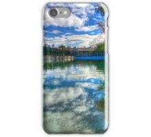 Water Level - MacCallum Pool - Cremorne Point - Sydney - Australia iPhone Case/Skin