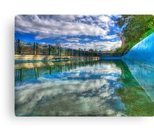 Water Level - MacCallum Pool - Cremorne Point - Sydney - Australia Canvas Print