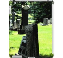 Graveyard by Day iPad Case/Skin
