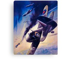 WW2 Propaganda Poster Reproduction Canvas Print