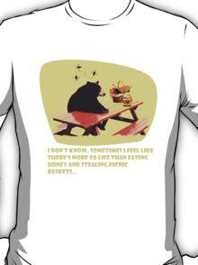 Bear - More to life dark T-Shirt