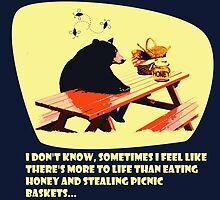 Bear - More to life dark by kramprusz