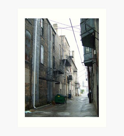 Flint, MI alleyway Art Print