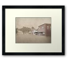 South Side of the Square Framed Print