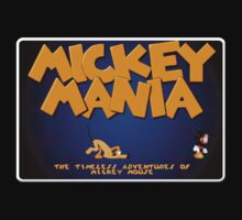 Mickey Genesis Megadrive Sega Start menu screenshot by ruter