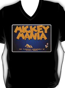 Mickey Genesis Megadrive Sega Start menu screenshot T-Shirt