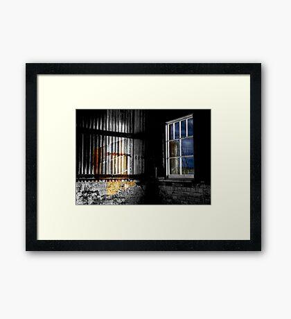 Moon Shine - Cockatoo Island - Sydney - Australia Framed Print