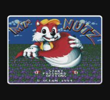Mr Nutz Genesis Megadrive Sega Start menu screenshot by ruter