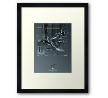Technoabstract - Hovercraft Framed Print