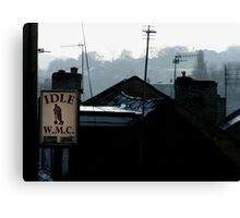 Working Men's Club of Idle UK Canvas Print
