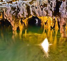 Ali-Sadr Cave - Lake & Tunnel - Iran by Bryan Freeman