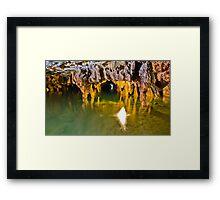 Ali-Sadr Cave - Lake & Tunnel - Iran Framed Print