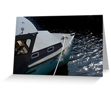 By The Dock Of The Bay Greeting Card