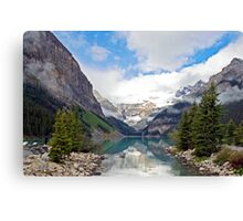 Lake Louise, Rocky Mts, Canada Canvas Print