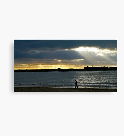 A feeling called loneliness Canvas Print