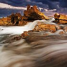 &quot;Stormy Point&quot;,Point Roadknight,Anglesea,Great Ocean Road,Australia. by Darryl Fowler